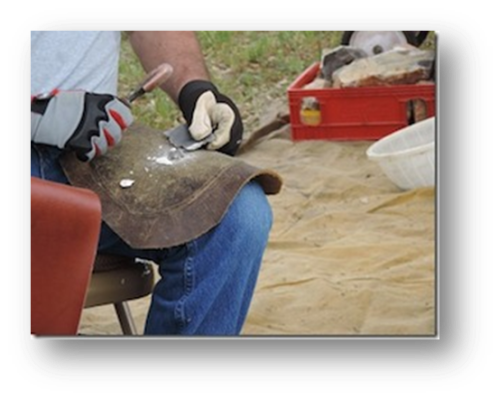 Dave Dean, knapping